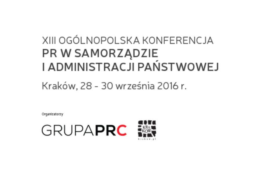 Rusza XIII Konferencja PR w Samorządzie i Administracji Państwowej