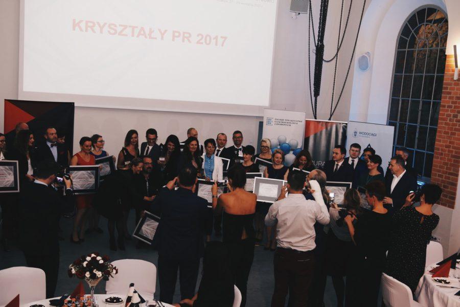 Kryształy PR 2017 rozdane!